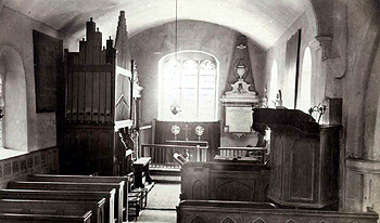 The chancel about 1900 [X21/756/8]